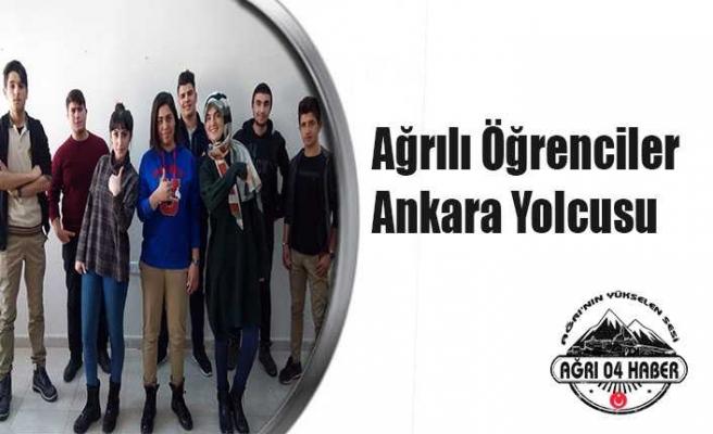 Ağrılı Öğrenciler Ankara'ya Gidiyor