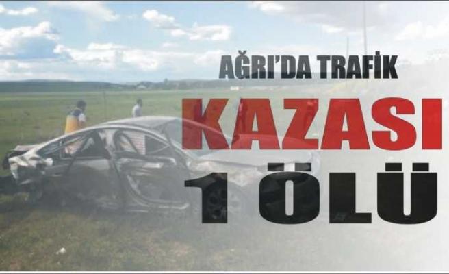 Ağrı da Ölümlü Trafik Kazası