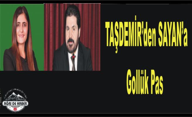 Taşdemir'den ,Sayan'a Propaganda Şansı