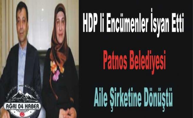 Patnos da HDP lilerden Ağır Suçlama