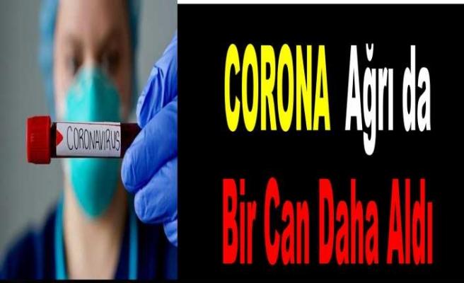 Ağrı da Corona'dan Ölen Hasta Sayısı 2 ye Çıktı