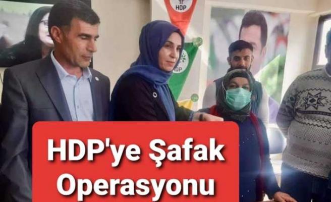 Ağrı'da HDP'ye Operasyon, Gözaltılar Var
