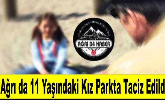 Ağrı da 11 Yaşında ki Kız Çocuğu Parkta Taciz Edildi