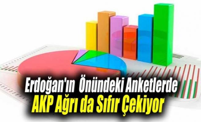 Anketlerde Ak Parti Ağrı'da Sıfır Çekiyor