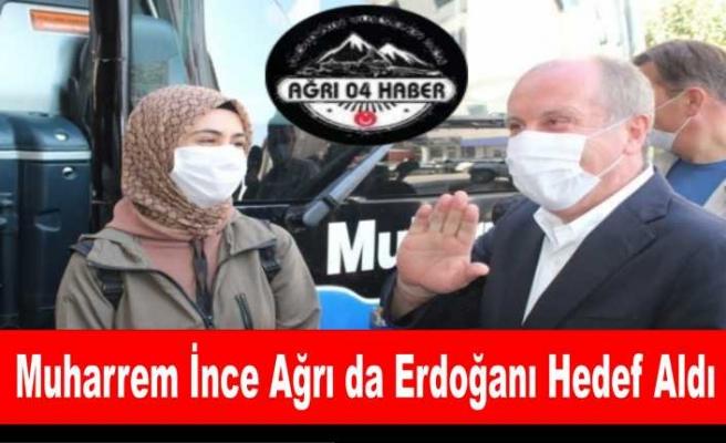 İnce Ağrı da Erdoğana Yüklendi '' Devlet Adamlığına Yakışmaz''