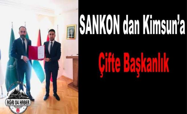 SANKON'dan Kimsun'a Çifte Görev