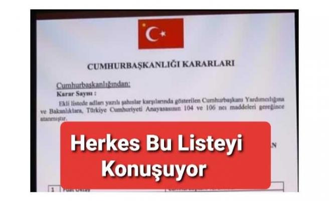 Türkiye Yeni Bakanlar Kurulunu Konuşuyor