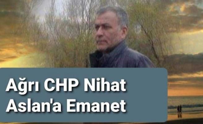 Ağrı CHP İl Başkanı Belli Oldu