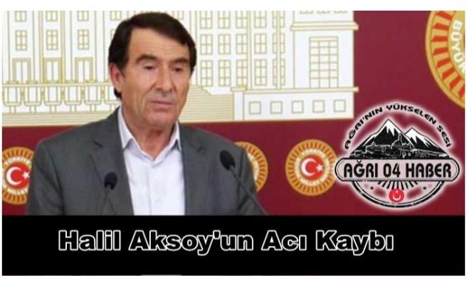 Halil Aksoy'un Acı Kaybı