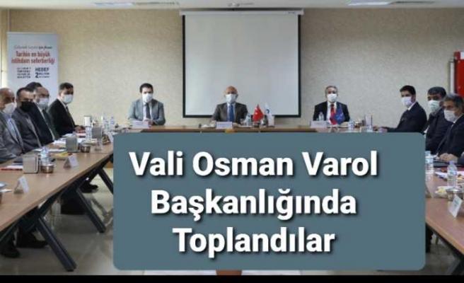 Vali Varol'un Başkanlığında İl İstihdam ve Mesleki Eğitim Kurulu Toplantısı Yapıldı
