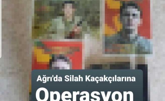 Ağrı'da Silah Kaçakçılığı Operasyonu 18 Gözaltı