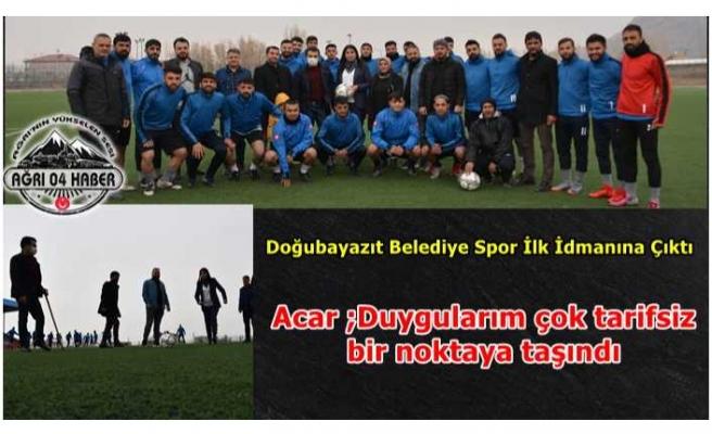 Doğubayazıt Belediye Spor 3. Profesyonel Lig Yolunda