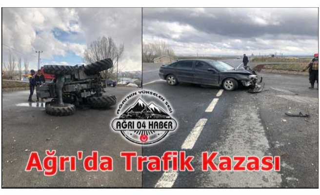 Ağrı'da Trafik Kazası