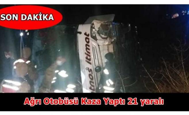 Patnos İtimat Kaza Yaptı 21 Yaralı