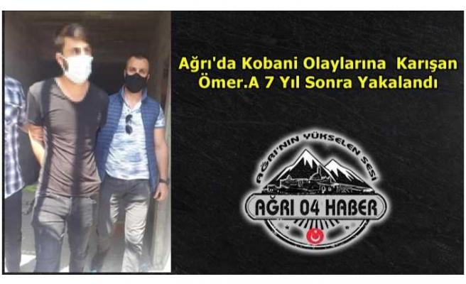 Ağrı'da Kobani Olaylarına Karışan Şahıs Yakalandı