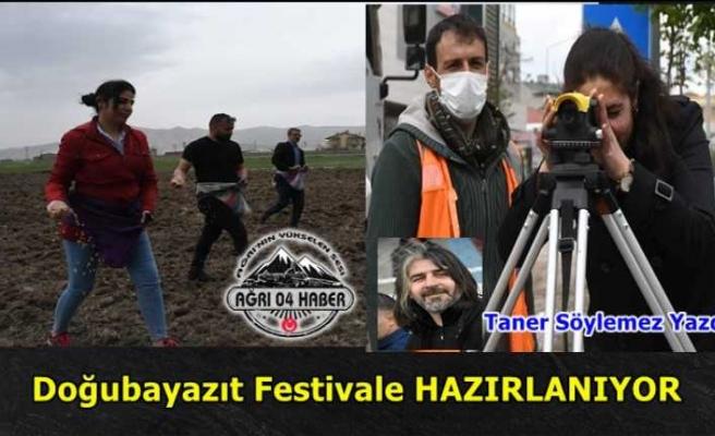 Doğubayazıt Belediyesi Festival'e Hazırlanıyor