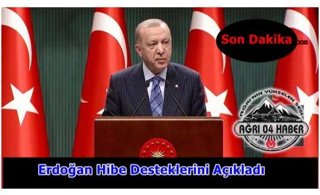 Erdoğan Destek Verilecek Esnaf Guruplarını Açıkladı