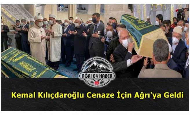 Kılıçdaroğlu Ağrı'da Cenazeye Katıldı