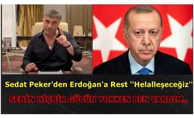 Peker, Erdoğan'a Seslendi ''Sen Yokken Ben Vardım''