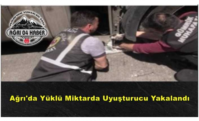 Ağrı'da 30 Kilo Afyon Sakızı Yakalandı