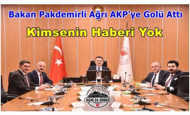 Bakan Pakdemirli'den Ağrı AKP'ye Gol