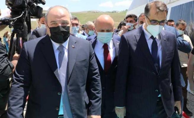 İki Bakanın Katılımı ile Altın Madeni Tesisinin Temeli Atıldı