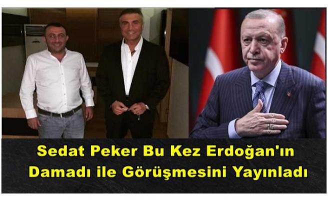 Sedat Peker Cumhurbaşkanı'nın Damadı İle Görüşmesini Yayınladı