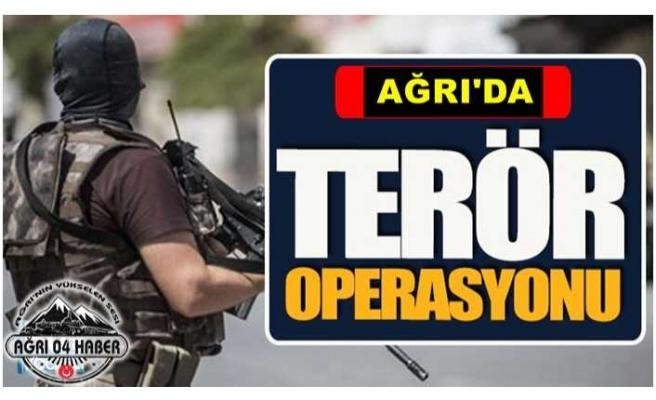 Ağrı'da 1 Terörist Etkisiz Hale Getirildi