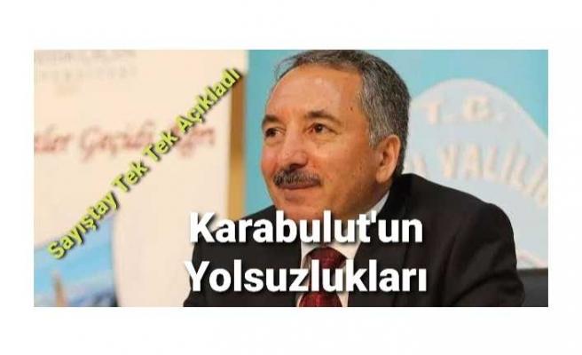 Rektör Karabulut'un Karanlık İşlerini Sayıştay Açıkladı