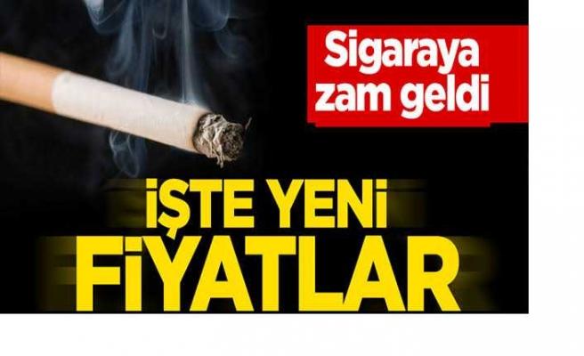 Sigaraya Zam Geldi