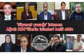 Siyaset yasağı getirilmesi istenen Ağrılı HDPliler belli oldu