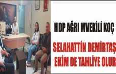 Ağrı HDP Heyetinden Basın Birliğine Ziyaret