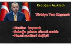 Türkiye Kısmen Kapatıldı