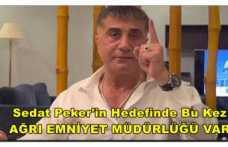 Sedat Peker Ağrı'ya Uzanan İlişkileri Anlattı