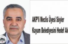 Ağrı da AKP li Encümen Kayyum'u Sordu
