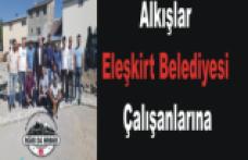 Eleşkirt Belediyesi Fark Yaratıyor