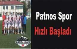 Patnos da Bal Ligi Heyecanı