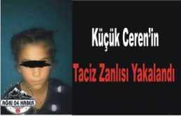 Patnos ta ki Tecavüz Zanlısı Yakalandı