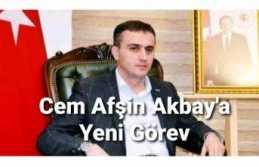 Cem Afşin Akbay'a Yeni Görev