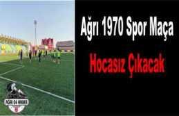 Ağrı 1970 Spor Kader Maçına Çıkıyor