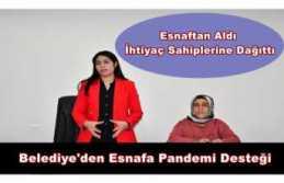 Doğubayazıt Belediyesi'nden Esnafa Pandemi Desteği