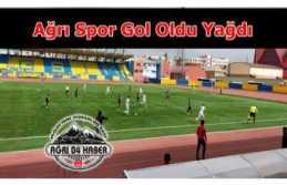 Ağrı Spor Ceyhan deplasmanında gol yağdırdı