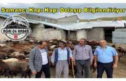 Samancı'dan Bilgilendirme ziyaretleri