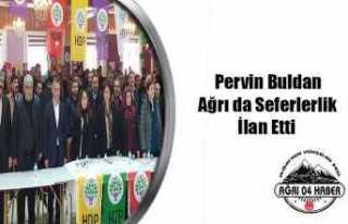HDP Ağrı da Seferberlik İlan Etti