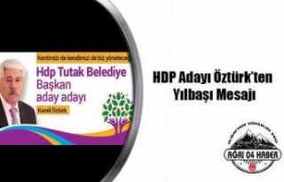 Kamil Öztürk'ten Yılbaşı Mesajı