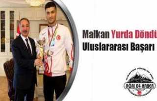 Bayram Malkan'dan Uluslararası Başarı