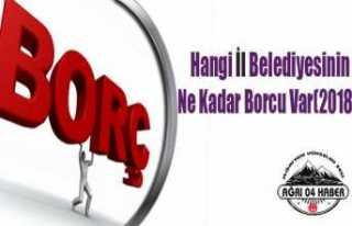 Hangi İl Belediyesinin Ne Kadar Borcu Var: Ayrıntılar...