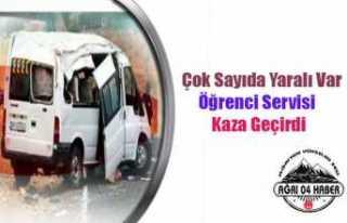 Öğrenci Servisi Kaza Yaptı: Çok Sayıda Yaralı...