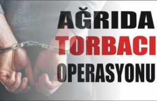 Ağrıda 18 Torbacı Tutuklandı