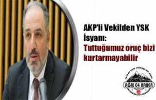 AKP li Yeneroğlu İstanbul İptaline İsyan Etti